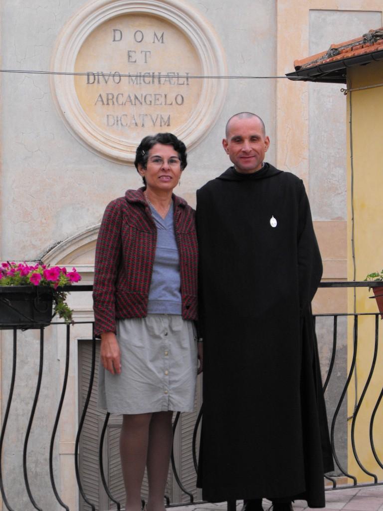 Fr. Antoine et sa sœur Myriam venue du Brésil.