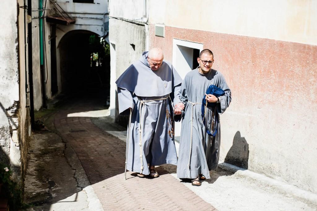 Pater Stefano Manelli, der Gründer der Franziskaner der Immakulata, macht uns die Freude und ehrt uns mit seiner Anwesenheit.
