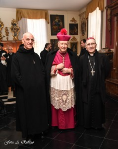 Our two bishops and Father Prior
