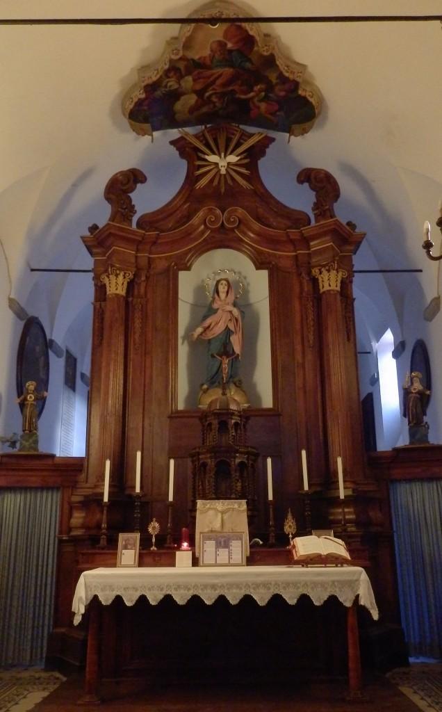 Autel majeur de l'église du monastère